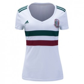 Mexico World-Cup Women's Away Jersey 2018(Customizable)