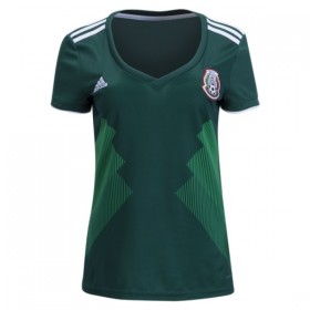 Mexico World-Cup Women's Home Jersey 2018 (Customizable)