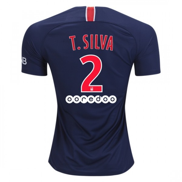 Paris Saint-Germain #2 T.SILVA Home Jersey 18/19