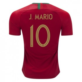Portugal World-Cup #10 J. MARIO Home Jersey 2018