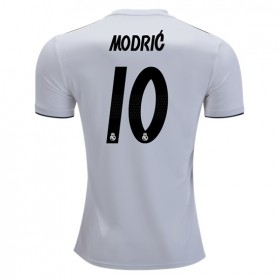 Real Madrid #10 MODRIC Home Jersey 18/19