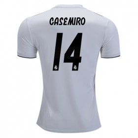 Real Madrid #14 CASEMIRO Home Jersey 18/19