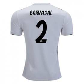 Real Madrid #2 CARVAJAL Home Jersey 18/19