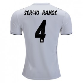 Real Madrid #4 SERGIO RAMOS Home Jersey 18/19