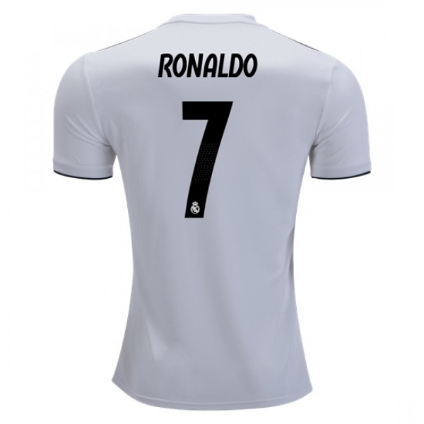 Real Madrid #7 RONALDO Home Jersey 18/19
