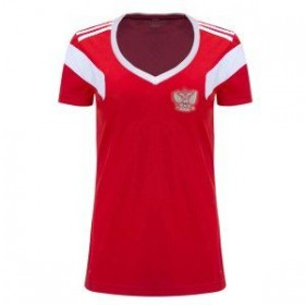 Russia World-Cup Women's Home Jersey 2018 (Customizable)
