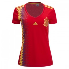 Spain World-Cup Women's Home jersey 2018 (Customizable)