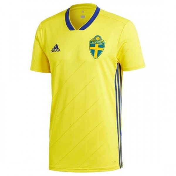 Sweden World-Cup Home jersey 2018 (Customizable)