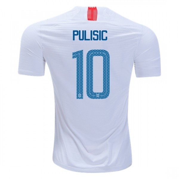 ef7634f7b1f USA #10 PULISIC Home jersey 2018