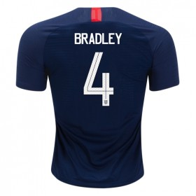 USA #4 BRADLEY Away jersey 2018