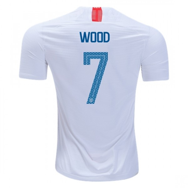 USA #7 WOOD Home jersey 2018
