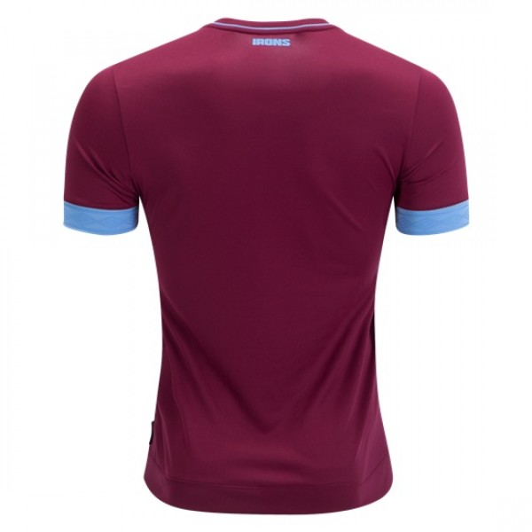 official photos bc240 87910 West Ham Home Jersey 18/19 (Customizable)
